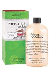 philosophy 'christmas cookie' shampoo, shower gel & bubble bath (Limited Edition)
