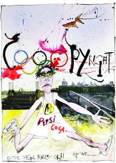 Ralph Steadman on the Olypics....