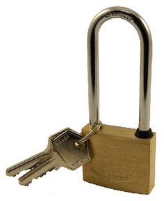 Door Furniture Direct Solid Brass 40mm Extended Shackle Padlock Security solid brass padlock with extended steel  sc 1 st  Pinterest & Yale Window Security Locks Quick-Fit White Pack At Door furniture ...