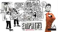 RSA Animate - The Power of Outrospection | Introspection is out, and outrospection is in. Philosopher and author Roman Krznaric explains how we can help drive social change by stepping outside ourselves. | #empathy