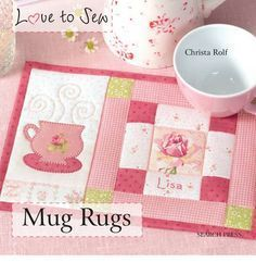 Mug Rugs Embroidered ITH (In the Hoop) on Pinterest | 41 Pins