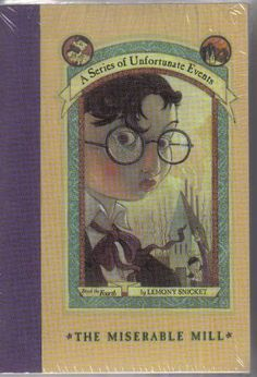A Series of Unfortunate Events Pack (Books 1-4) (Series of Unfortunate Events, Books 1-4)by Lemony Snicket   #1 The Bad Beginning #2 The reptile Room #3 The Wide Window #4 The Miserable Mill