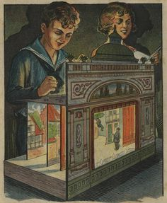 1924 Paper Theater Project by pilllpat (agence eureka) Little Theatre, Toy Theatre, Victorian Toys, Paper Art, Paper Crafts, Punch And Judy, Puppet Toys, Paper Puppets, Marionette