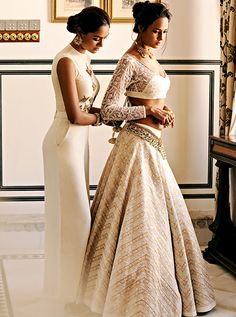 Rosabelle (Arielle Rose) — aashiqaanah:       The Jewels Harpers Bazaar Bride...