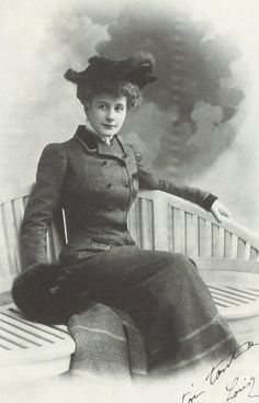 "Louisa de Mornand: Actress and mistress of Proust's friends, Bertrand Fenelon and Louis d'Albufera. She was of the models for ""Rachel."" Wiliam C. Carter's biography ""Marcel Proust: A Life."" (http://films7.com/7/top/1?page=40)"