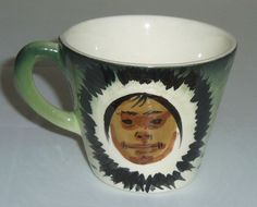 Sascha Brastoff Pottery Alaska Series Eskimo Demi Cup!