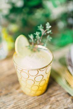 Boozy Peach Lemonade #recipe