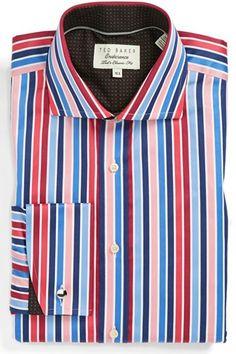 8271bbf1ce2ba Mens paisley print shirts. See more.  Ted Baker London  Tops  Baker  London   Classic  Dress  Shirt