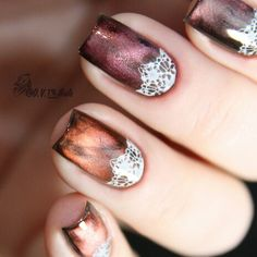 Stamping. Magnetic nail polish Masura More