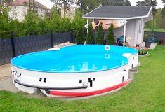 Solar, Ship, Cats, Outdoor Decor, Gardening, Gardens, Gravel Garden, Oval Pool, Gatos