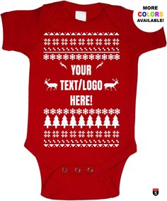 Personalized Christmas baby onesie funny custom baby cool shirt perfect gift multiple colour and unisex sizes glitter available by on Etsy Lettering, Baby Onesie, Christmas Baby, Cool Shirts, Glitter, Unisex, Colour, Cool Stuff, Funny