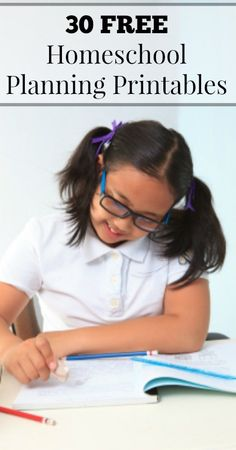 Free Homeschool Planning Printables   {Homeschool Planners, Homeschool Printables, Unit Study Planners, Course of Study Planners, Homeschool Calendars, Homemaking Planners, Home Management Planners}