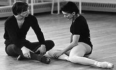 "Rudolf Nureyev and Margot Fonteyn ""The one important thing I have learned over the years is the difference between taking one's work seriously and taking one's self seriously. The first is imperative and the second is disastrous"" Dame Margot Fonteyn"