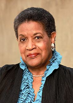 Myrlie Louise Evers–Williams (née Beasley; born March 17, 1933) is an American civil rights activist and journalist who worked for over three decades to seek justice for the murder of her civil rights activist husband Medgar Evers in 1963. She was also chairwoman of the NAACP, and published several books on topics related to civil rights and her husband's legacy. On January 21, 2013, she delivered the invocation at the second inauguration of Barack Obama.