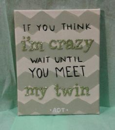 Kappa Delta Twin Reveal Craft Canvas