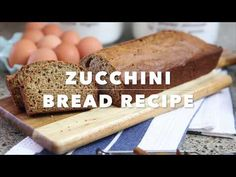 Healthier Zucchini Bread Recipe made with Applesauce