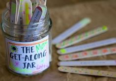 Put a stop to sibling bickering: Make a get-along jar