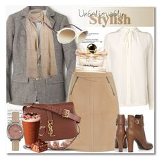 """""""Look the day"""" by vkmd on Polyvore featuring J.Crew, L.K.Bennett, M&S Collection, Tod's, Salvatore Ferragamo, Tom Ford, Shinola, Yves Saint Laurent and GetTheLook"""