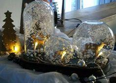 boules de neige. Toujours de jolies créations chez Florence Gravot