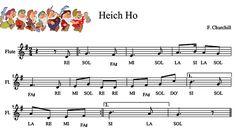 Heich Ho. Partitura y playback. http://mariajesusmusica.com