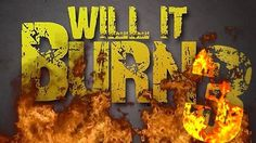 "Will It Burn 3  More objects and bigger fire! Does it get any more ""youth ministry"" than this? In this video-based game a variety of objects are lit on fire with a propane torch, and students have to decide will it burn with visible flames or just smolder out?"