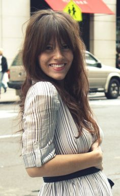i want to do this with my bangs but i'm scared..
