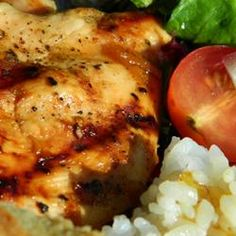 Grilled Chicken with Peach Sauce - Allrecipes.com