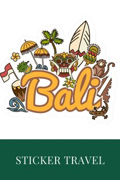 Discover Travel Bali T-Shirt, a custom product made just for you by Teespring. Bali Beach, Bali Lombok, Calligraphy Letters, Bali Travel, Nameplate, Diy Stickers, Vintage Travel Posters, Header, Travel Inspiration