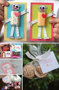 Homemade DIY Valentines.   These are so cute! The girls and I will have to plan a Valentines' Project weekend this year.