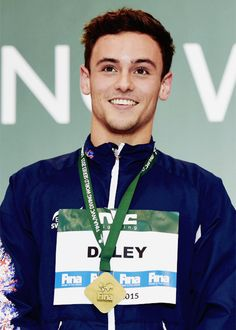 m Daley wins gold in the 10m platform event at the London Diving World Series, 3rd May 2015