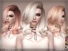 Sims 4 CC's - The Best: Stealthic - Erratic