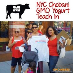 Thank you GMOInsiders for joining us at the Chobani teach in NYC. You can take action a well by signing this letter to Chobani asking them to stop feeding their cows GMO feed. More Here: http://action.greenamerica.org/p/dia/action3/common/public/?action_KEY=11496