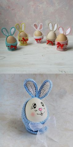 Coats for Easter Eggs Crochet pattern in English This master class consists of: Description of Cute Rabbit A step-by-step guide with photos Difficulty level: entry-level Handmade Toys, Etsy Handmade, Handmade Crafts, Handmade Ideas, Crochet Patterns Amigurumi, Crochet Motif, Crochet Toys, Easter Decor, Easter Crafts