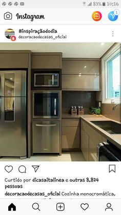Kitchen Room Design, Bathroom Design Small, Home Room Design, Kitchen Cabinet Design, Modern Kitchen Design, Home Decor Kitchen, Interior Design Kitchen, Home Kitchens, New Kitchen