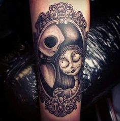 Nightmare Before Christmas tattoo.
