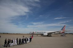 JOINT BASE ANDREWS, MD - SEPTEMBER 24:  U.S. servicemembers prepare for the departure of Pope Francis from Washington, DC en route to New York City on September 24, 2015 in Joint Base Andrews, Maryland.The Pope is on a six-day trip to the U.S., with stops in Washington, New York City and Philadelphia.  (Photo by Patrick Smith/Getty Images)