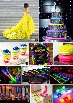 Resultado de imagem para 15 anos ideias neon
