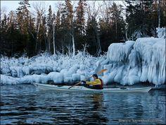 Winter Kayaking - Clothing & Tips