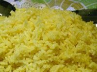 Coconut Yellow Rice
