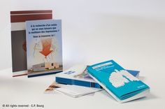 Produce all your brochures, magazines, leaflets, menus, greeting cards, calendars, trans-promotional materials, etc. with C.P. Bourg booklet makers.