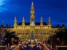 Most Festive Christmas Cities : Holidays : Travel Channel