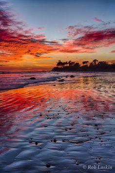 #Devereux Sunset Sky, California