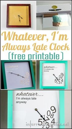 """DIY CLOCK 