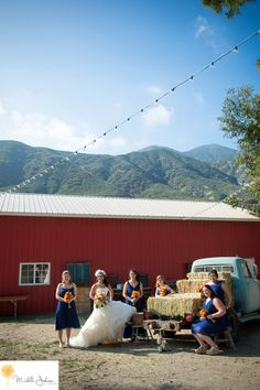 Sweet Pea Ranch Photo By Michelle Johnson Photography -Barn Wedding