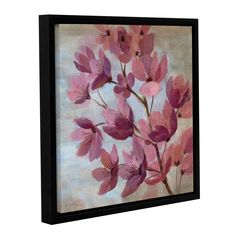 ArtWall Silvia Vassileva's April Blooms I Gallery Wrapped Floater-framed