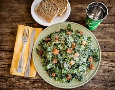 he organic kale Caesar salad at the Farmer and the Cook
