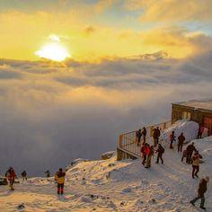 "Alvand Mountain, ""Midan Mishan Shelter (Shelter Nr. 1 in Alvand peak)"", Hamadan Province, Iran (Persian:  الوند کوه - پناهگاه شماره یک الوند ""پناهگاه میدان میشان قله الوند"" - همدان) Credit: khalili.yashar/Instagram"