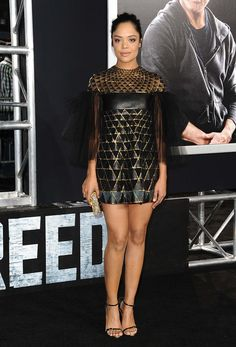 How Creed's Tessa Thompson Became a Red Carpet Breakout Star