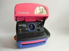 Vintage Polaroid - Polaroid SPICE CAM - Kamera - ein Designerstück von susduett bei DaWanda