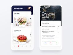 Recipes app 2x